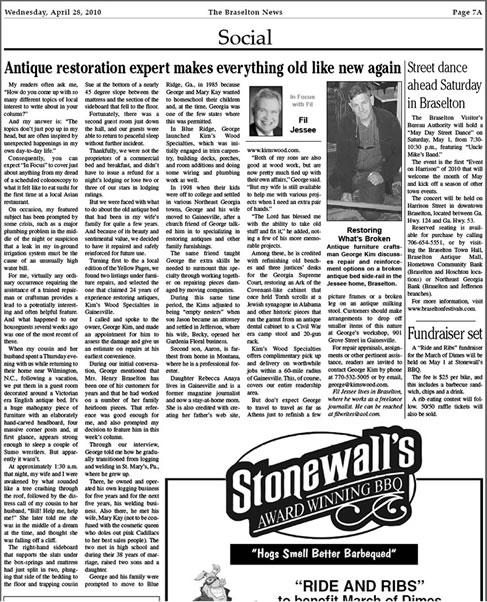 Braselton News Today April 24, 2010