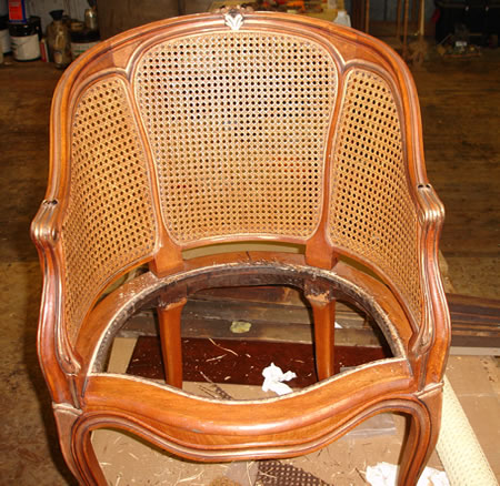 Chair to be recaned