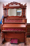 organ refinished