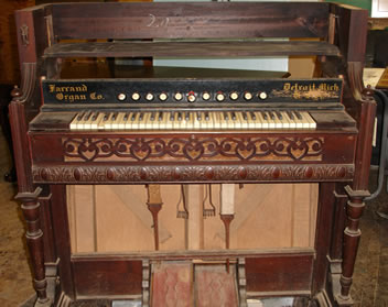 organ front before