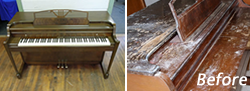 Restored and Refinished Piano